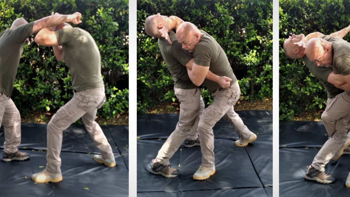 VARIATIONS OF THE CROSS-HOCK TAKEDOWN
